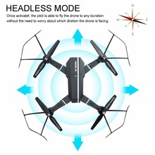 Mini Foldable Selfie  Drone with 2.0MP HD Camera RC FPV Dron/Quadcopter Remote Control Toys VS Xs809hw JJRC H43WH JXD 523W