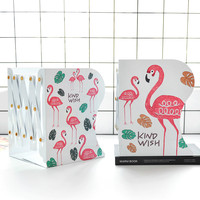 Retractable Book Stand Medium Folding Book Clip Book by Book Stack Student Table Storage Bookend Desk Accessories Organizer