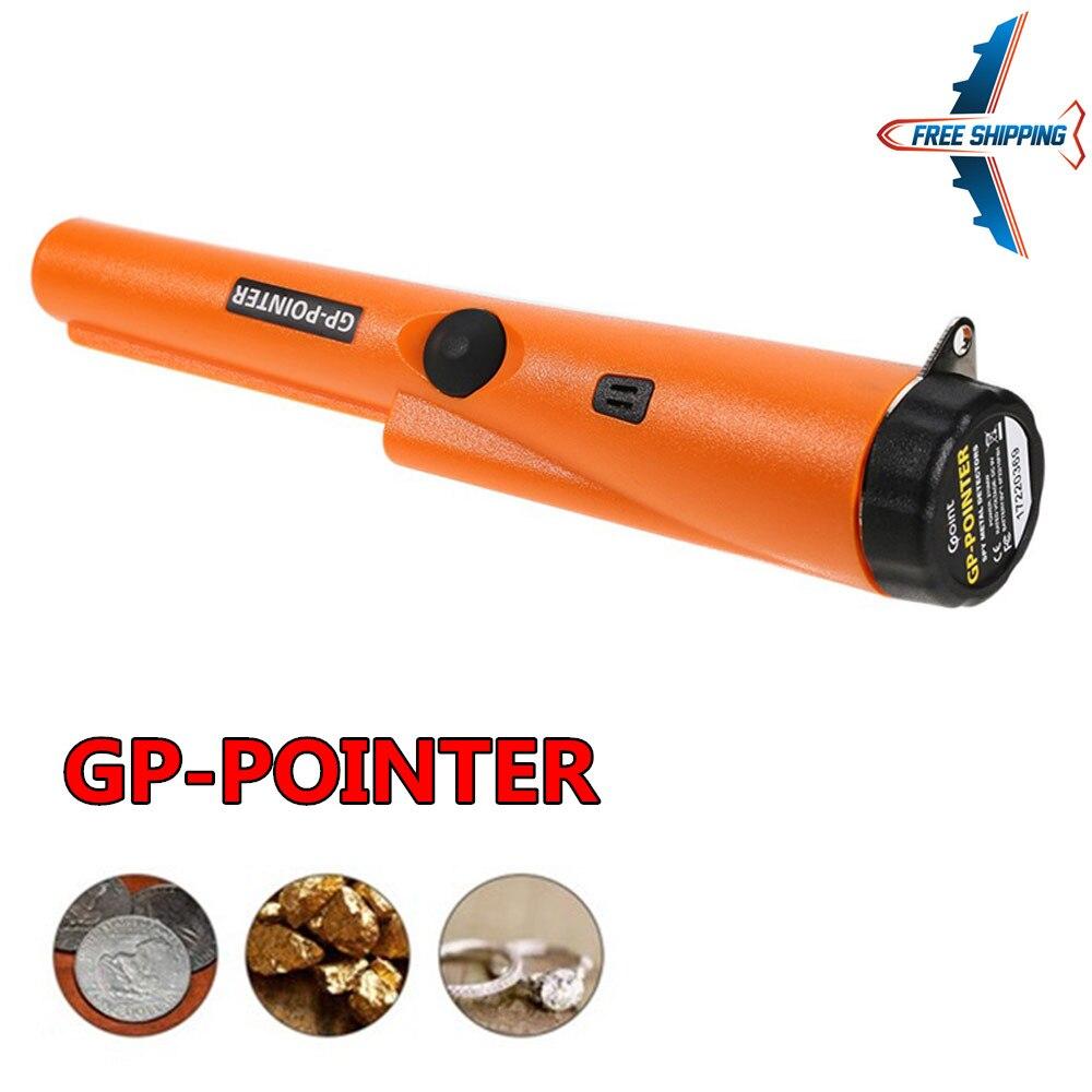 Pin puntero sonda Pinpoint detectores de Metal con funda tesoro caza Unearthing herramienta accesorios zumbador vibración automática