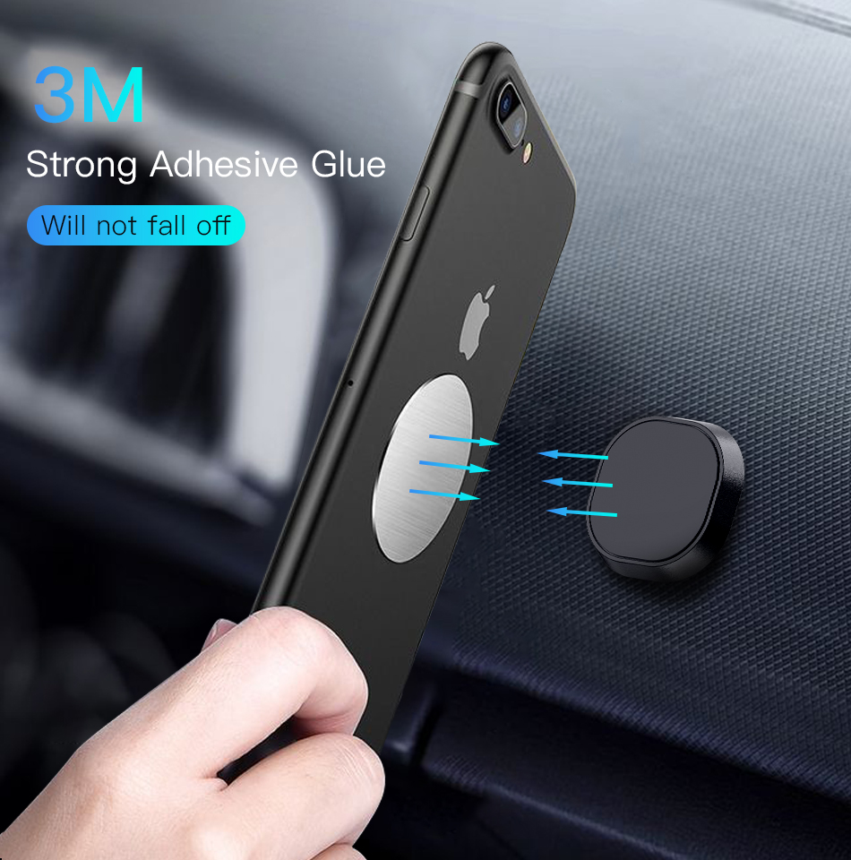 !ACCEZZ 10pcslot Magnetic Metal Plate Disk For Car Phone Holder Iron Sheet Sticker Thin For Magnet Universal Mobile Phone Stand (2)