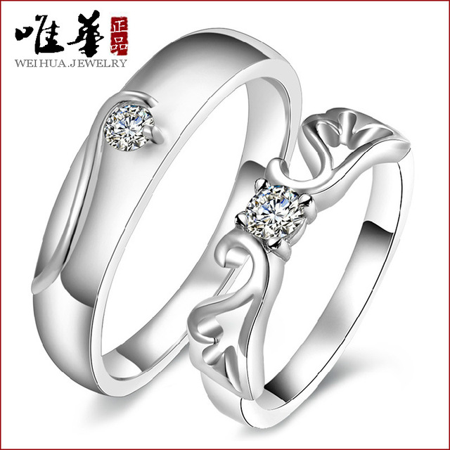 Viva S925 Silver Wedding Rings Angel Love Ring Female Hand Jewelry Whole Manufacturers