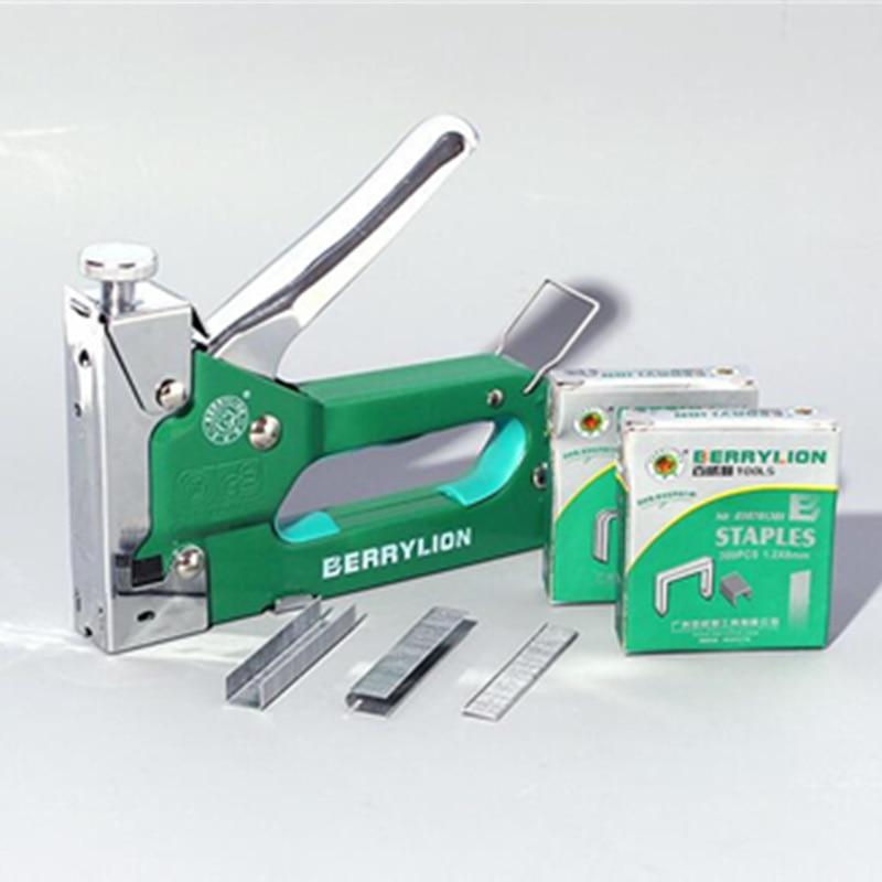 multitool nail staple gun furniture stapler for wood door upholstery framing rivet gun kit nailers rivet