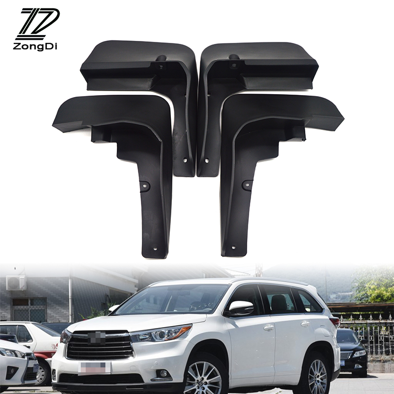 Toyota Highlander 2011 For Sale: Aliexpress.com : Buy ZD Car Front Rear Mudguards For