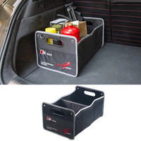 Auto Accessories Car Organizer Truck Storage boxs Stowing Tidying For AUDI A3 B8 A4 B5 B6 B7 A1 A5 C5 A6 C6 C7 A7 A8 Q3 Q5 Q7 TT