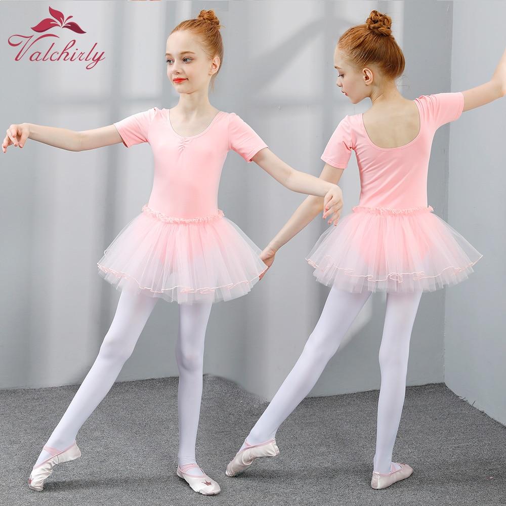 6f29eba6c Ballet Tutu vestido niñas danza ropa de niños formación princesa falda  trajes de gimnasia leotardos