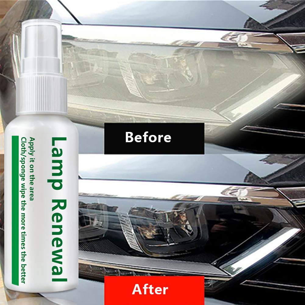 New 2019 20ml/50ml Car Liquid Headlight Retreading Agent Lamp Repair Essence For Scratches Yellowing Oxidation Blurred