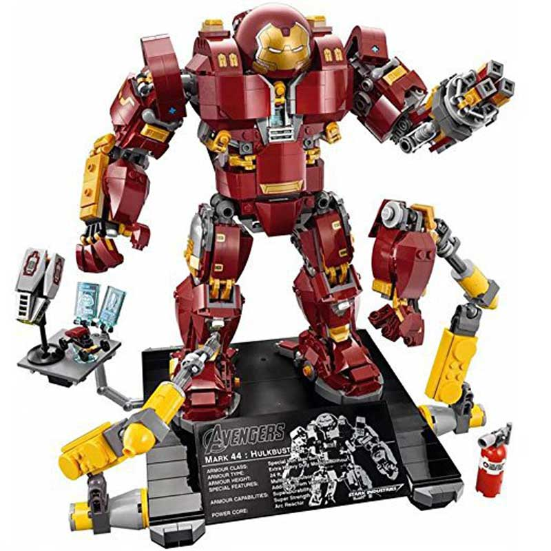 Super Heroes Blocks Marvel Figures Iron Man The Avengers LEGOINGLYS Building Blocks Bricks Toys For Children led стробоскоп involight led strob200