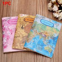 Paszport podróży posiadacz dla kobiet PVC paszport okładka World map Travel paszport okładka Case Marka Passport Holder Fashion tanie tanio Z NINEFOX Geometryczne Pokrowce na paszport A1491317C 15cm 10 cm 0 03 kg masy Akcesoria podróżne