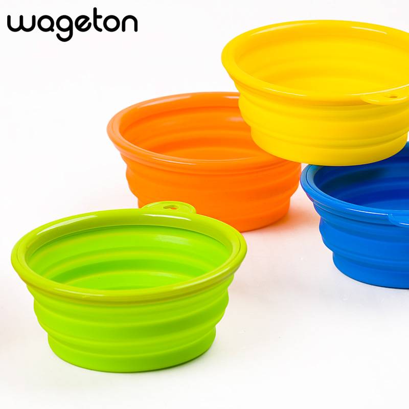 Pet Products Silicone Bowl Cat Folding Ps