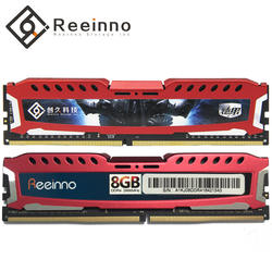 Reeinno оперативная Память ddr4 4 ГБ 8 ГБ оперативной памяти, 16 Гб встроенной памяти, 2400 МГц 1,2 V 288pin пожизненная гарантия высокой эффективности