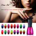 Beau Gel 7ML Temperature Change Chameleon make up Color Changing UV Nail Gel Polish Long Lasting UV Gel Nail Varnish