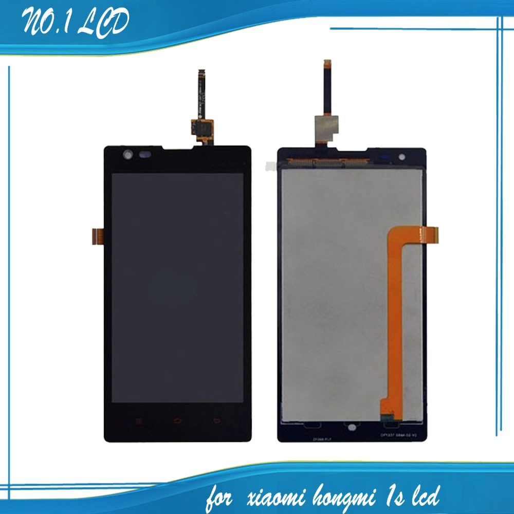 4.7″ For Xiaomi Hongmi Redmi 1S LCD Display Assembly +Touch Screen Glass Digitizer Assembly,Black LCD Repair Parts Free Shipping