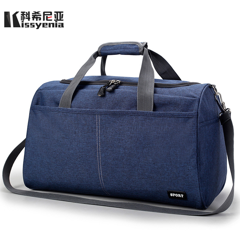 Kissyenia 2018 Men Oxford Travel Handbags Top Handle Flight Large Capacity Bags