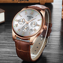 Luxury Brand Men Watch Fashion Leather Quartz Watch Men Casual Business Male Wrist Watch Relogio Masculino erkek kol saati 2019 north luxury dual display men s watch men wrist watch analog digital sport watch men clock relogio masculino erkek kol saati