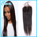 7A Thick Ends Virgin Malaysian Straight Closure Bleached Knots Unprocessed Human hair Lace Closure Can Be Dyed No Tangle No Shed