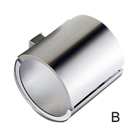 Stainless Steel Toilet Tissue Holder Cylinder Roll Paper Towel Rack for Bathroom Toilet Drop