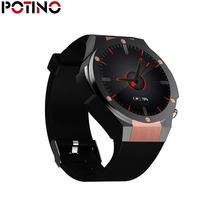 POTINO H2 GPS Smart Watch IOS With App Download Heart Rate Tracker WIFI SIM 5.0M HD Camera Android 5.1 Smartwatch Pk Kw88