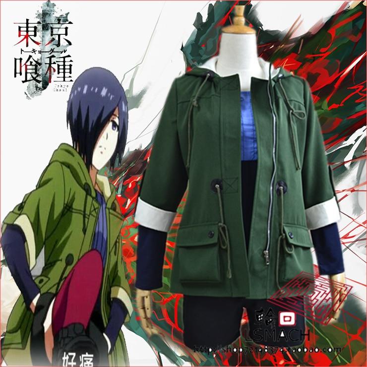 Free shipping Tokyo Ghoul Touka Kirishima Cosplay Costume