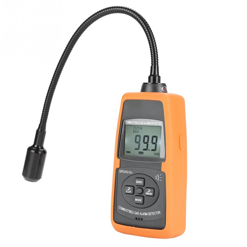 Initiative Spd202/ex Digitale Brennbares Gas-detektor Natürliche Lpg Kohle Alarm Tester Meter Werkzeug Tragbare Gas Analysatoren Gas Analysatoren Analysatoren