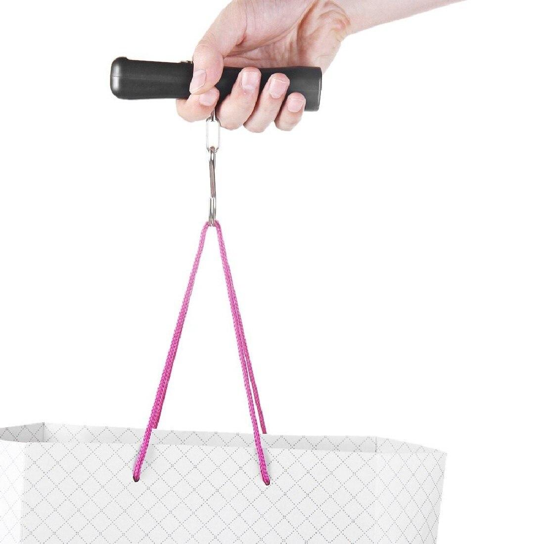 1 pc LCD Rétro-Éclairé 10g 40 kg Voyage Portable Bagages Bagages Valise Sac Poids Numérique Pesant Crochet Échelle Cuisine