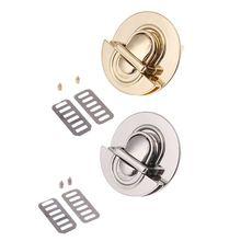 Metal Clasp Turn Lock Twist Locks for DIY Hardware Handbag Shoulder Bag Purse все цены