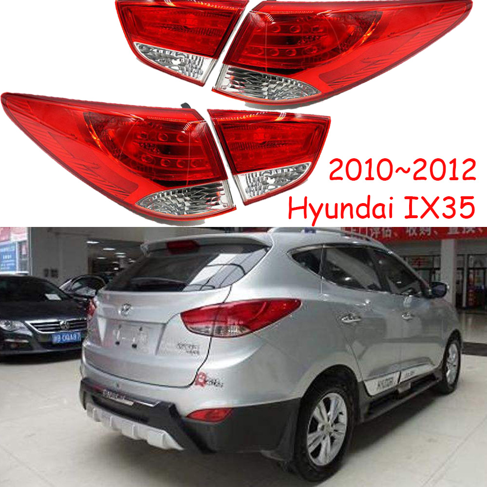 1pcs Car Tail Lights For Taillight Hyundai IX35 Tucson Taillamp 2010~2012 Car Accessories IX 35 Tail Light Rear Lamp