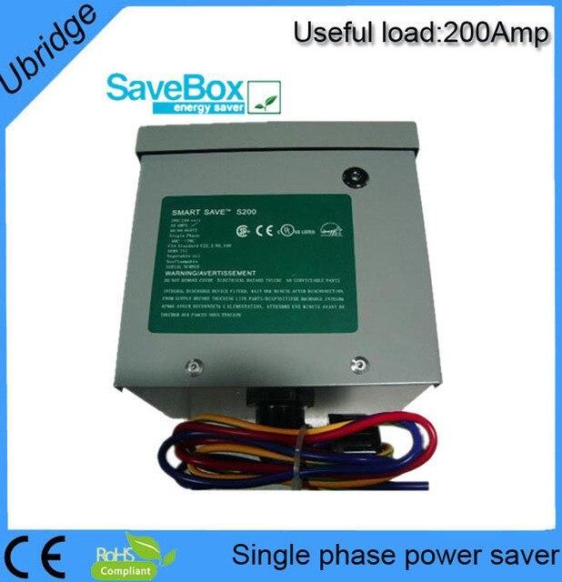 Hot-sale 200AMP single phase power saver for home,shops,school,supmaket,UBT1200