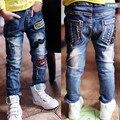 Envío libre, muchachos de los Pantalones Vaqueros del otoño del resorte de los nuevos niños bebés de los pantalones vaqueros jeans de moda para niños niños jeans.