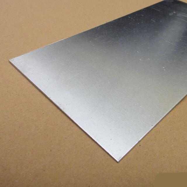 100x200x 1mm 200x200x0 3mm Aluminum Plate Diy Model