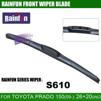 RAINFUN Dedicated Car Wiper Blade For TOYOTA NEW PRADO 26 20 INCH With High Quality Natural
