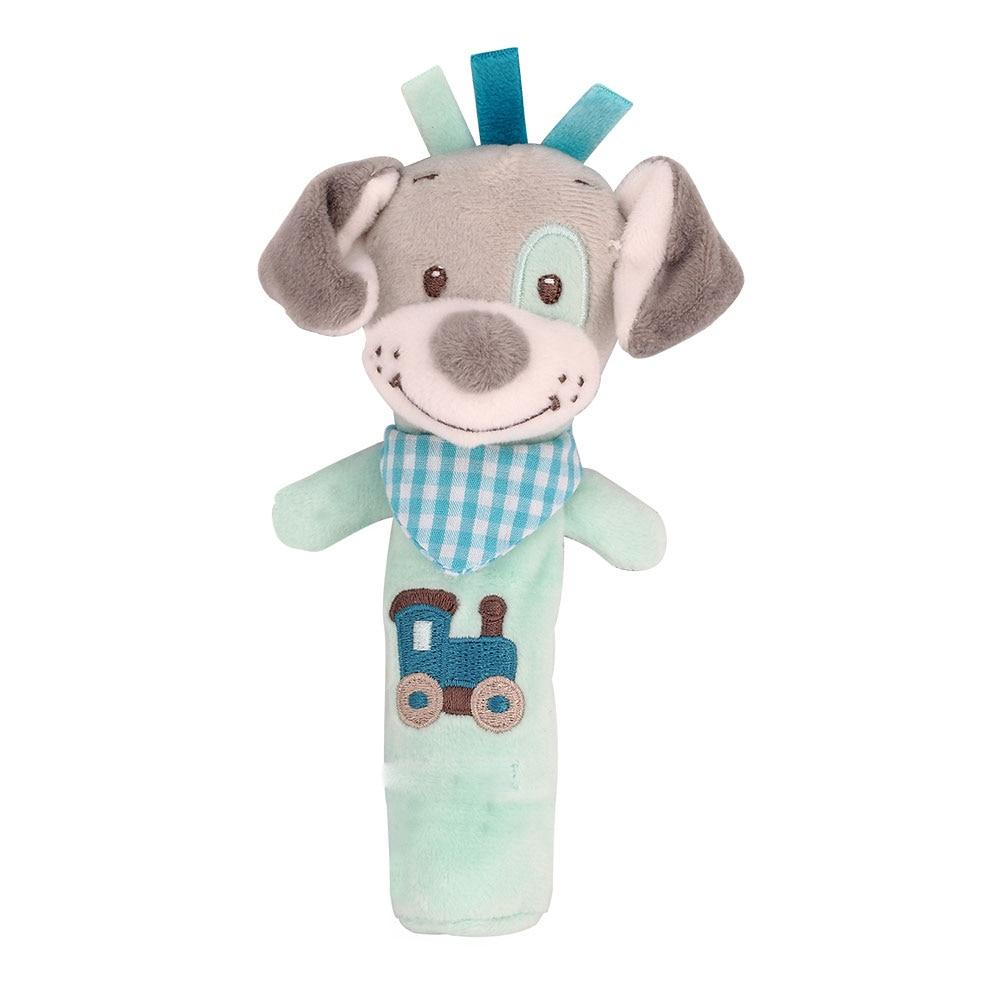 Детские погремушки Fulljion, развивающие игрушки для детей, Прорезыватель для зубов, Колокольчик для малышей, детская коляска, подвесные куклы - Цвет: bebe 4
