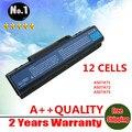 Para Acer Aspire 4736 G 4730 4310 AS07A31 AS07A32 AS07A41 AS07A42 bateria de 12 células laptop
