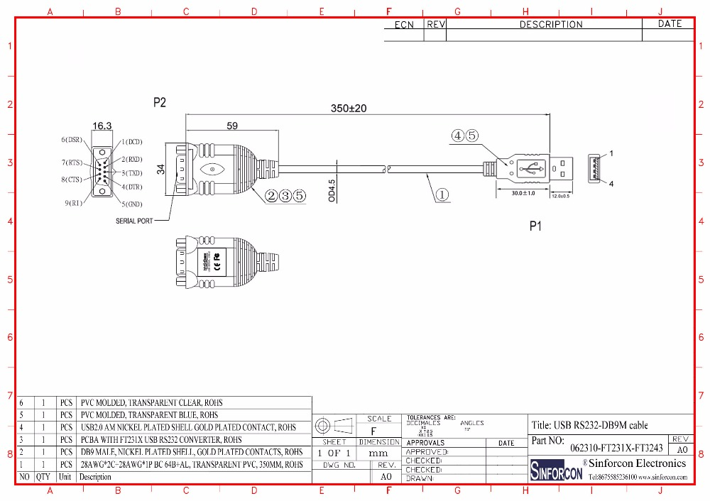 usb to db9 pinout diagram   25 wiring diagram images