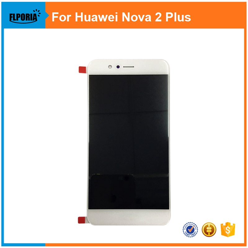 For Huawei Nova 2 LCD Display+Digitizer Touch Screen Assembly  Replacement Parts Black/White for asus zenpad c7 0 z170 z170mg z170cg tablet touch screen digitizer glass lcd display assembly parts replacement free shipping