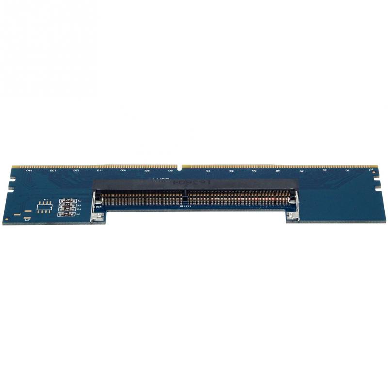 Image 5 - PCB DDR4 Blue Adapter Card Converter RAM Connector Memory Tester Supports 2133Mhz Over Current Protection For JEDEC-in RAMs from Computer & Office