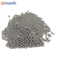 GOXAWEE Carbon Steel Polishing Round Beads 2/3/4/5/6mm Polishing Medium For Rotary Tumblers Power Tools Accessories for Tumbler