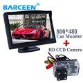 """5 """"para todos pantalla del monitor del coche + cámara de visión trasera hd ccd adaptarse para Peugeot 206/207/407/307 (Sedan)/307SM"""