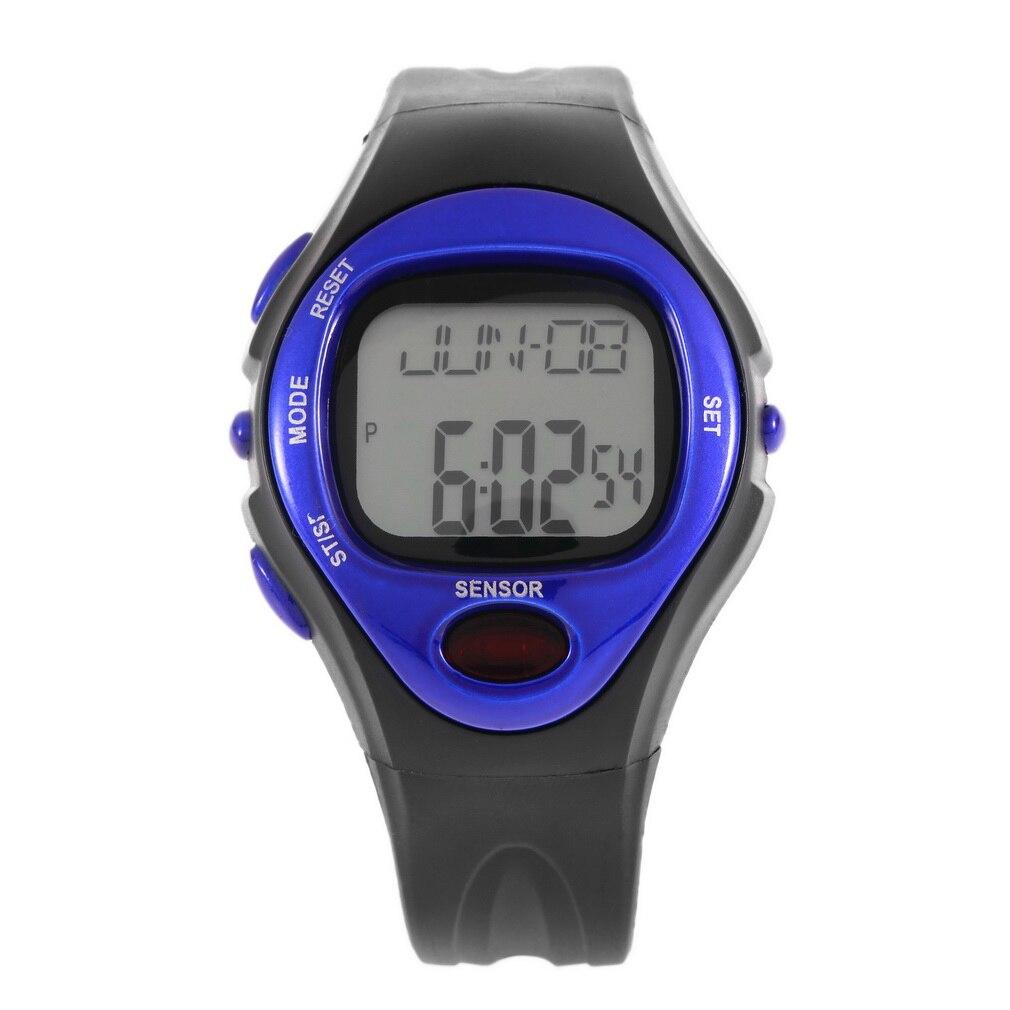 Pulse Heart Rate Monitor Calories Counter Fitness Watch Time Stop Watch Alarm Digital Watch Reloj Men Women 2017 Wholesale