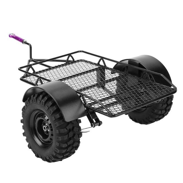 1/10 Metal Trailer Frame Simulation Trailer Car Hopper Trail Tamiya ...