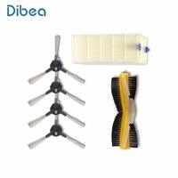 Promotion Dibea D900 Vacuum Cleaner Parts Smart Robotic Vacuum Kits