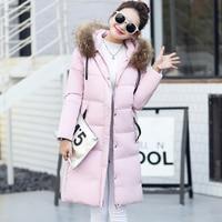 New Design Russia Hooded Thickened Big Fur Parka Women Long Ladies Winter Coats Women SPN8819