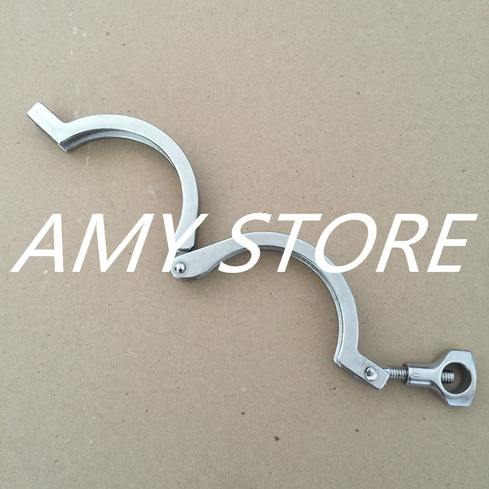 3 76mm Tri Clamp Clover 304 Stainless Steel Fits Tri Clamp Ferrule OD 91 MM New tri clamp clover for od ferrule stainless steel ss sus 304