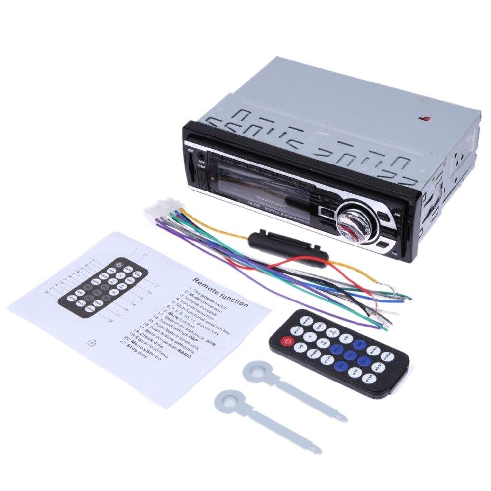 12 V Del Coche Del Bluetooth Reproductor de MP3 Radio FM Estéreo Bluetooth MP3 T