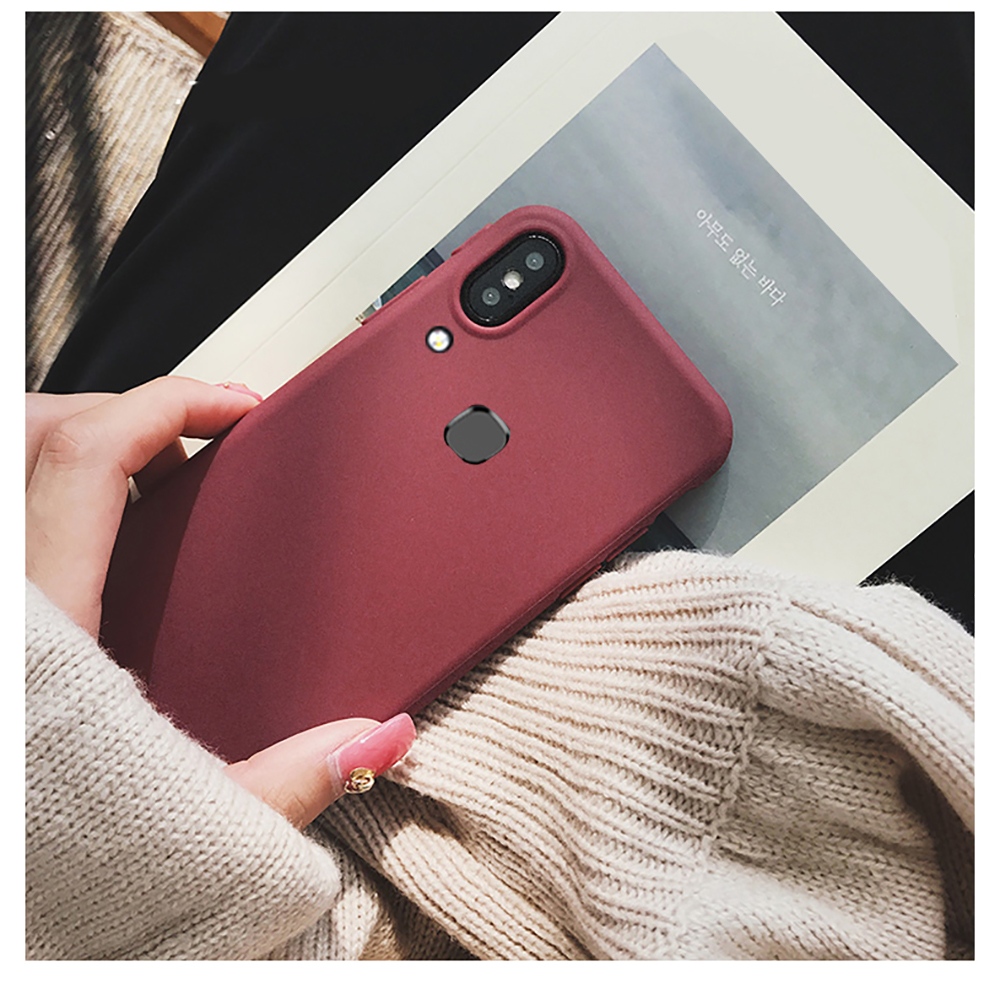 Mature and Elegant Matte Silicone Soft Case For VIVO Y85 Y81 Y83 Y91 Y91i Y91C Y93 lite Y93i Y95 Phone Case VIVO Y71 Y65 Y53(China)