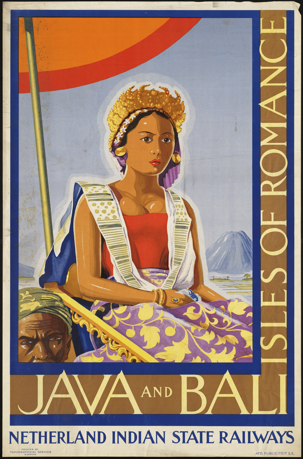 Art Deco Travel Posters Vintage Retro Holiday Tourism *Unique  Bali Indonesia