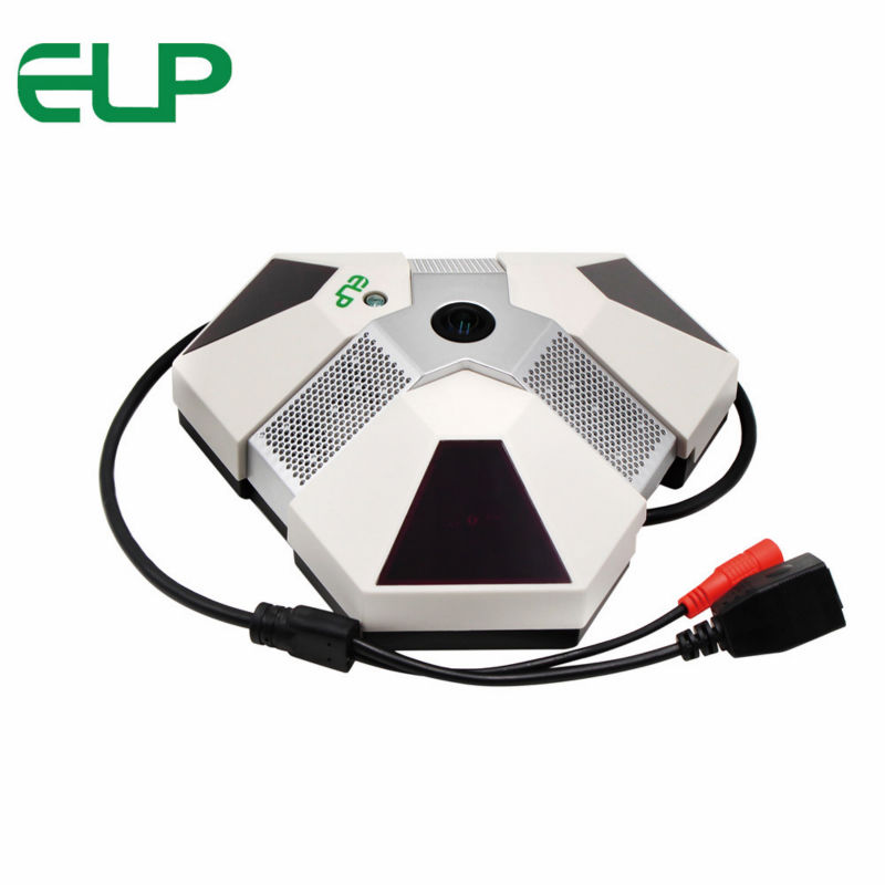 2MP 3pcs Array IR <font><b>led</b></font> 360 degree fisheye panorama ip camera with <font><b>cms</b></font> software iPhone,Android APP with power supply