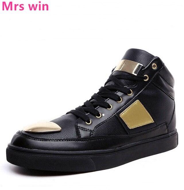 Men Sequined Sports Shoes Outdoor Men Running Shoes Black Gold Sneakers Waterproof Walking Jogging Flat Shoes Zapatillas Hombre
