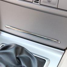 VCiiC 자동차 스타일링 자동차 커버 재떨이 커버 라이트 바 커버 트림 포드 포커스 2 MK2 ABS 크롬 1pc 세트