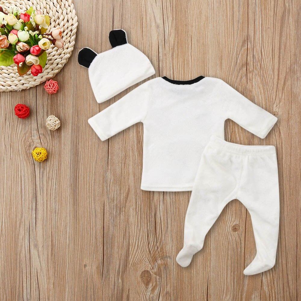 Ihram Kids For Sale Dubai: MUQGEW Toddler 3Pcs Winter Newborn Baby Girl Boy Clothes