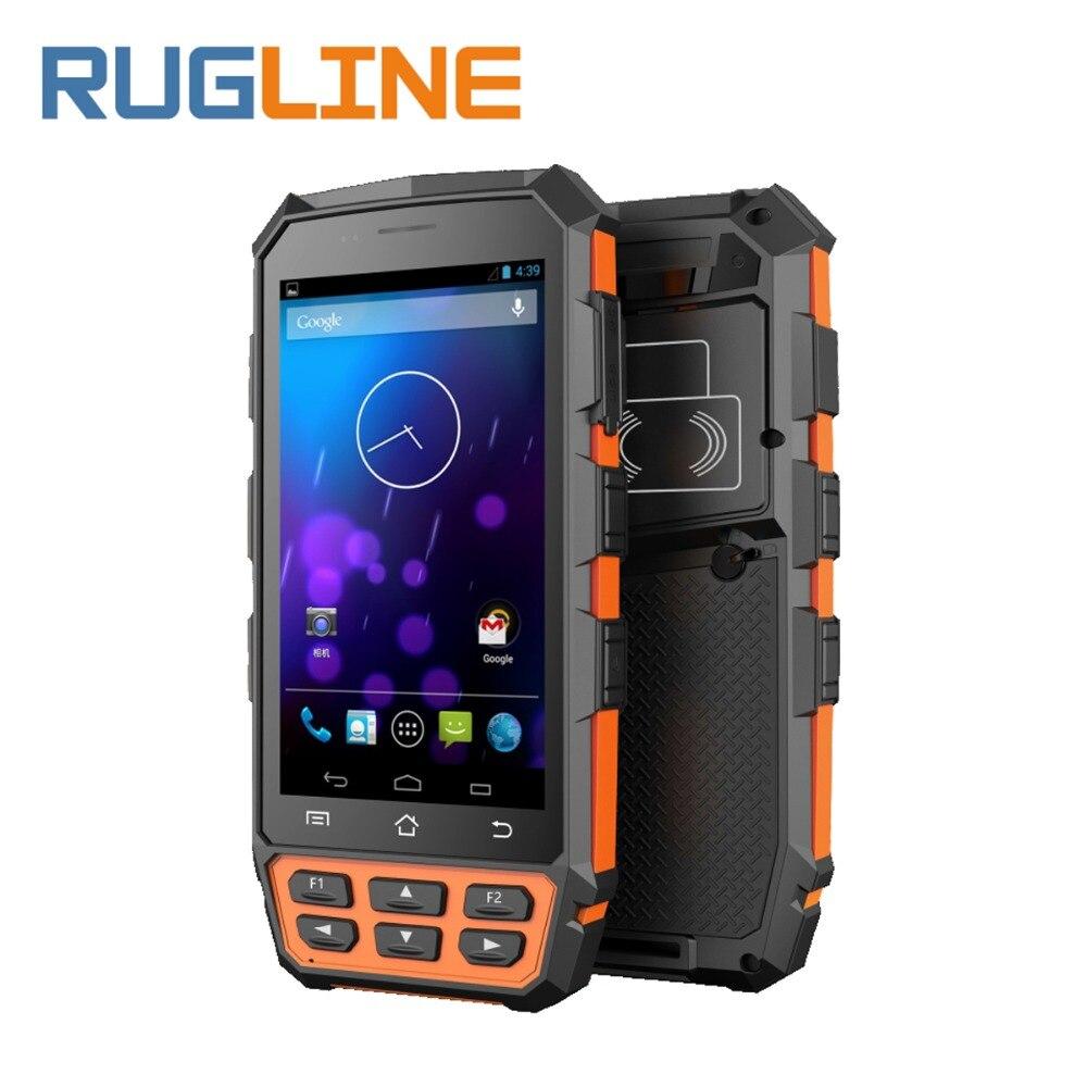 5 Mobile Data Terminal Android 7 0 Handheld PDA 125KHz 134 2KHz FDX B HDX Handheld